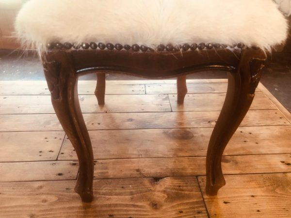 "Kid Skin Stool Length 20"" width 15"" height 16"" £150WhatsApp Image 2019-12-30 at 3.50.51 PM (2)"