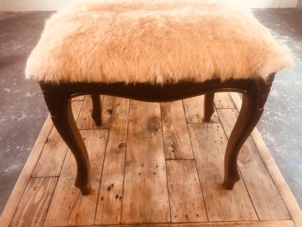 "Kid Skin Stool Length 20"" width 15"" height 16"" £150WhatsApp Image 2019-12-30 at 3.50.51 PM"